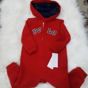 Polo Jumper w/Hood